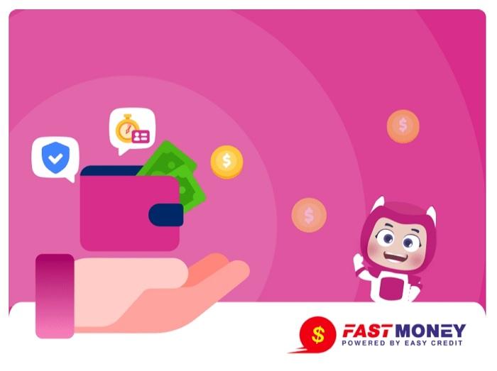 Fast Money là ứng dụng vay tiền trên ví Momo