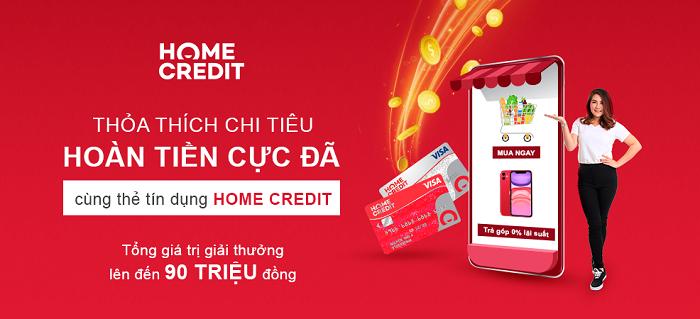 Sản phẩm thẻ tín dụng Home Credit ra đời gần đây