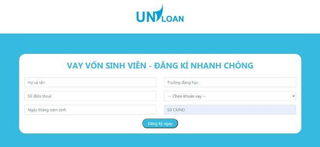 Quy trình đăng ký vay tiền Uniloan