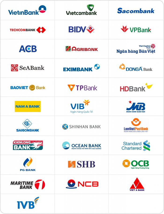 Dễ dàng rút tiền thẻ Vietcredit tại hệ thống ATM các ngân hàng