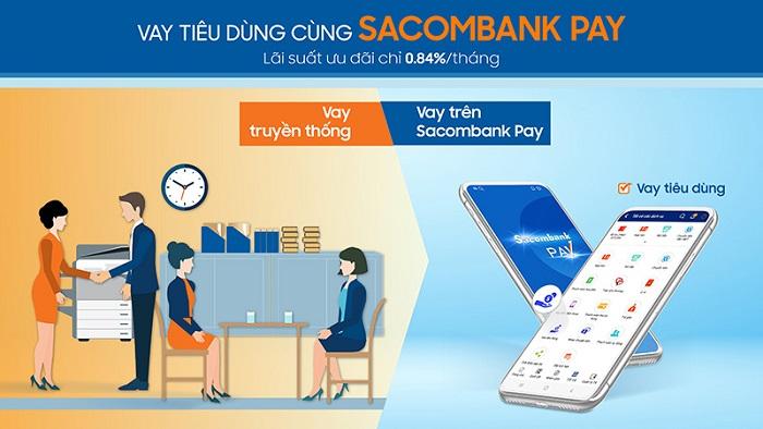Vay tín chấp Sacombank lãi suất ưu đãi