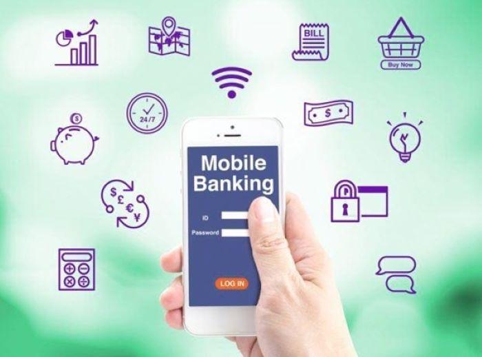 Mobile banking kết nối giao dịch ngân hàng trực tuyến mọi lúc mọi nơi