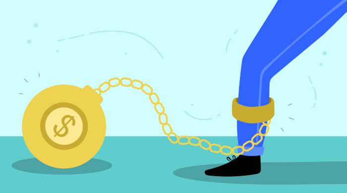 Nợ xấu gây ảnh hưởng lớn tới cuộc sống tài chính
