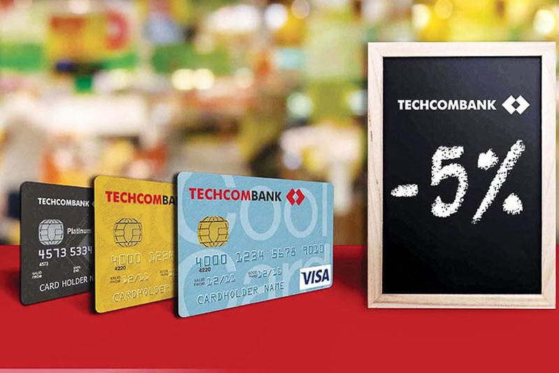 Techcombank cung cấp đa dạng các loại thẻ