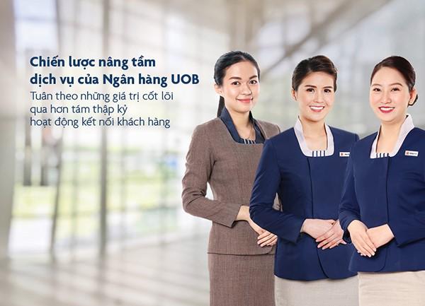 Đồng phục của ngân hàng UOB