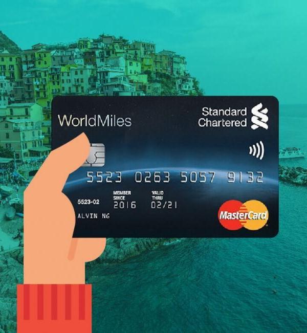 Thẻ ngân hàng Standar Chatered Bank